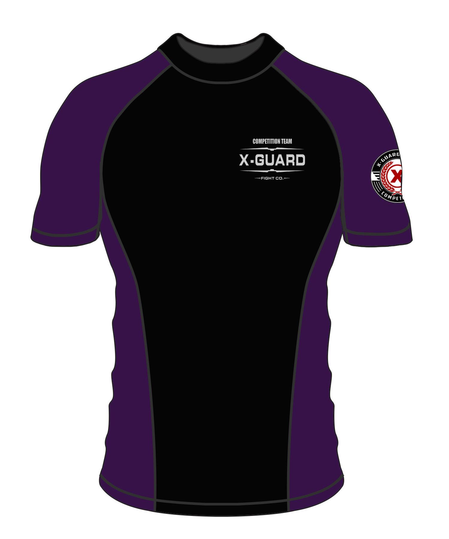 Comp Team Rash Guard | Purple Belt